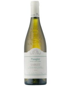 Frankrig,-Rhone, Domaine Piaugier, Sablet Blanc 2017
