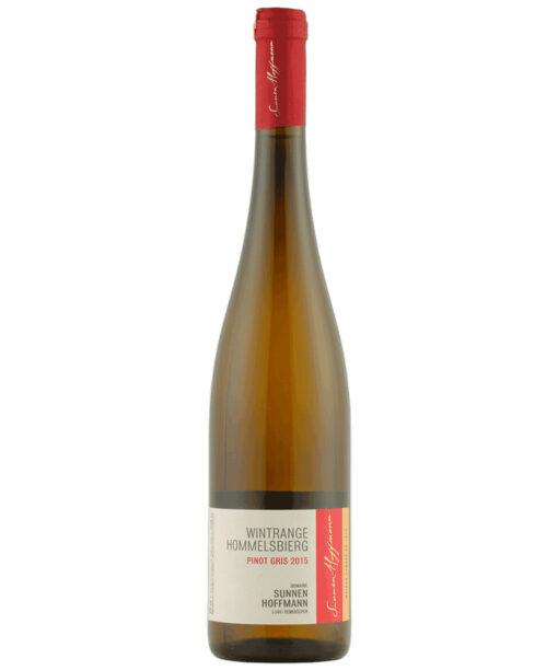Luxembourg, Domaine Sunnen-Hoffmann, Pinot Gris 2016
